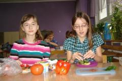 klasa VI a - zdrowe i pożywne kanapki - projekt